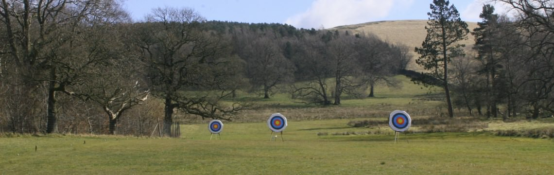 Photo of the Bowmen of Lyme grounds in spring